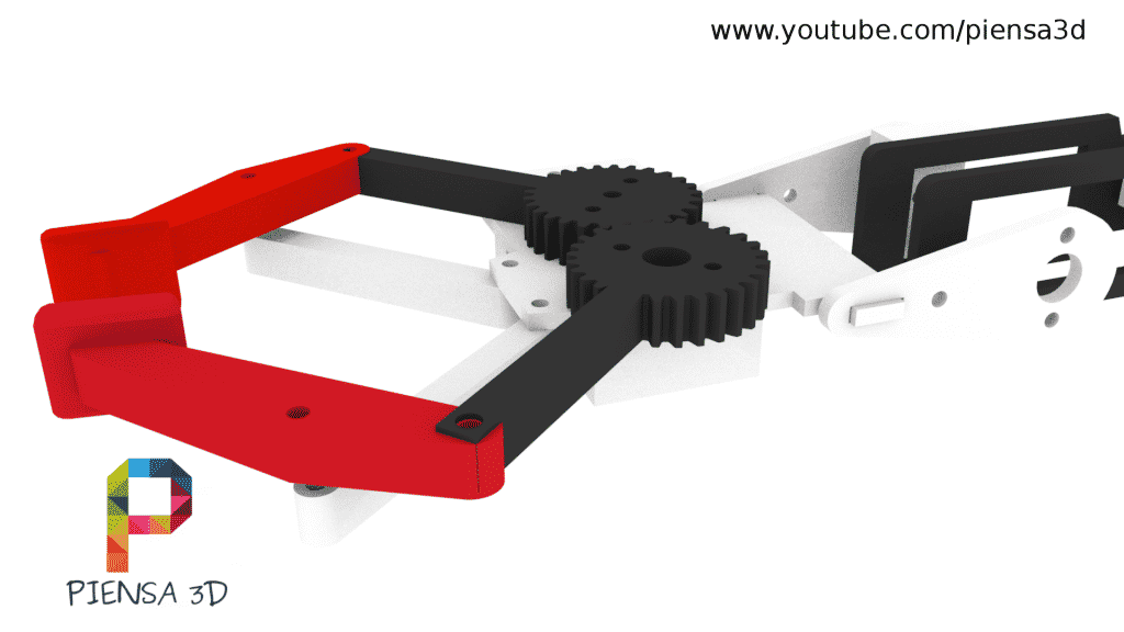 Brazo robot Piensa3D - Pinzas