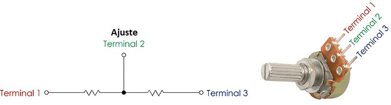 Potenciometro y usos - Arduino