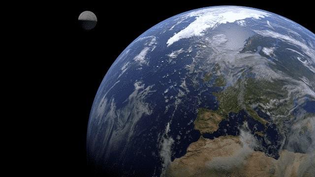 Planeta tierra en blender