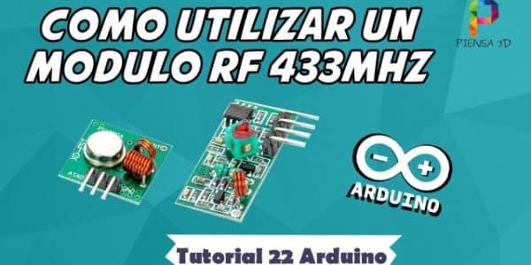 Cómo utilizar un módulo de RF 433MHz - Tutorial 22 Arduino