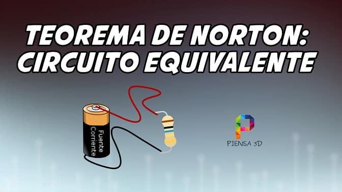 Teorema de Norton: Circuito Equivalente