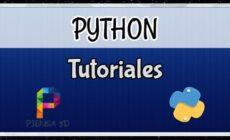 python tutoriales